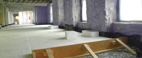 Raising floors